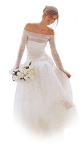 copriabiti in tnt per sposa